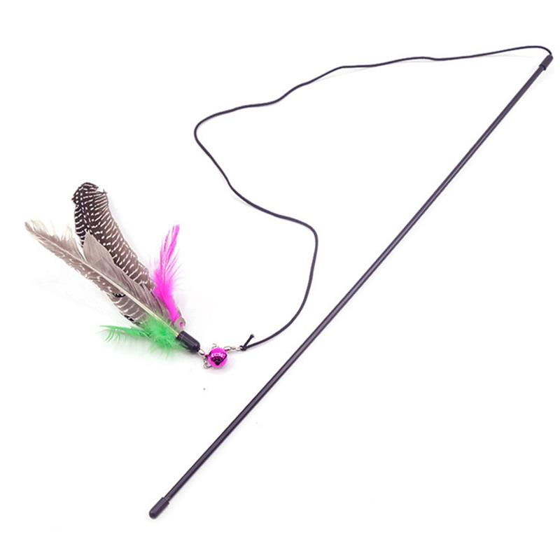 Cat's Interactive Toy Feather