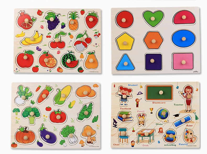 Themed Wooden Puzzle